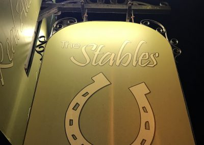 stables-sign